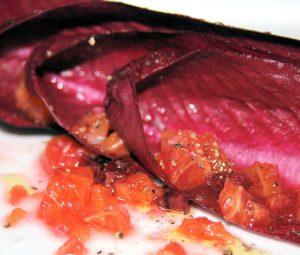 radicchio, raw salad recipes, mary beth clark