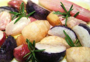 radish recipes, roasted vegetable recipes, mary beth clark