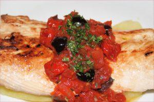 mahi-mahi messinese, pesce messinese, sicilian fish dishes, mary beth clark,