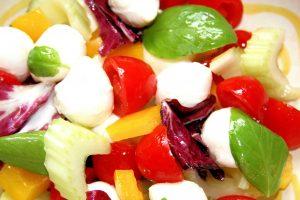 mozzarella bocconcini, mozzarella, bocconcini, mary beth clark, boccincini salad,