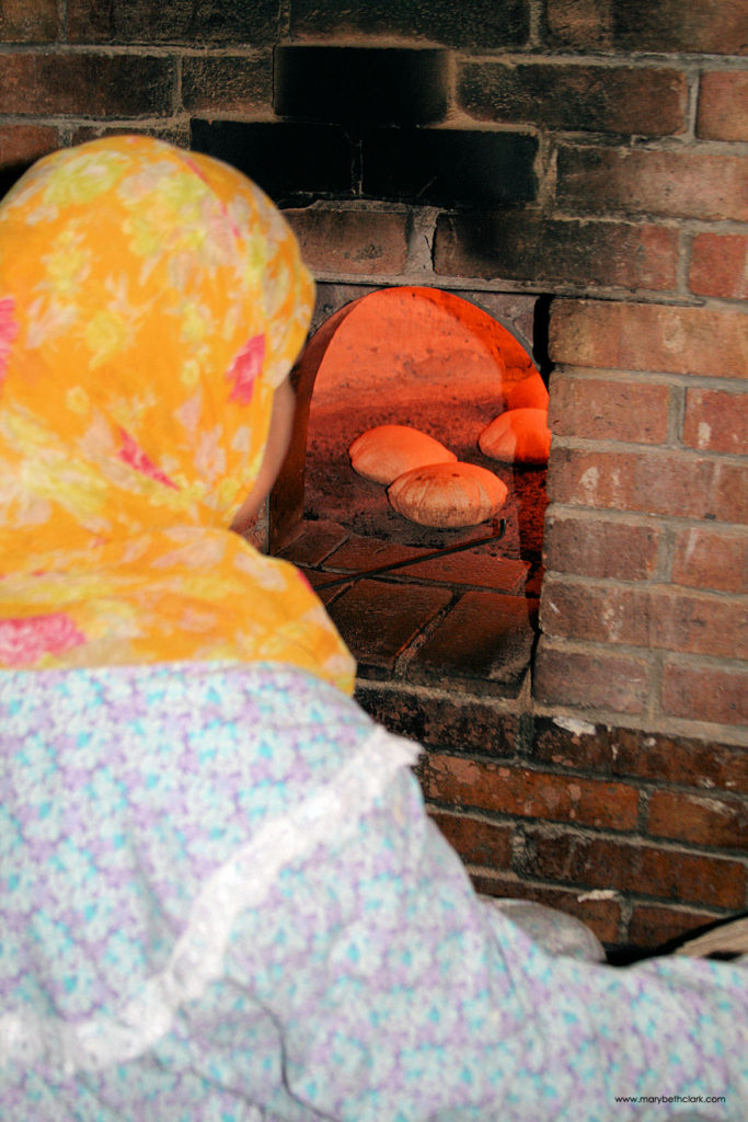 Travel - Africa - Egypt - Cairo - Aish Baladi Rising in the Outdoor Oven