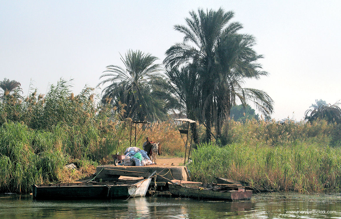 Al-Qursaya Island: Waiting for the River Ferry