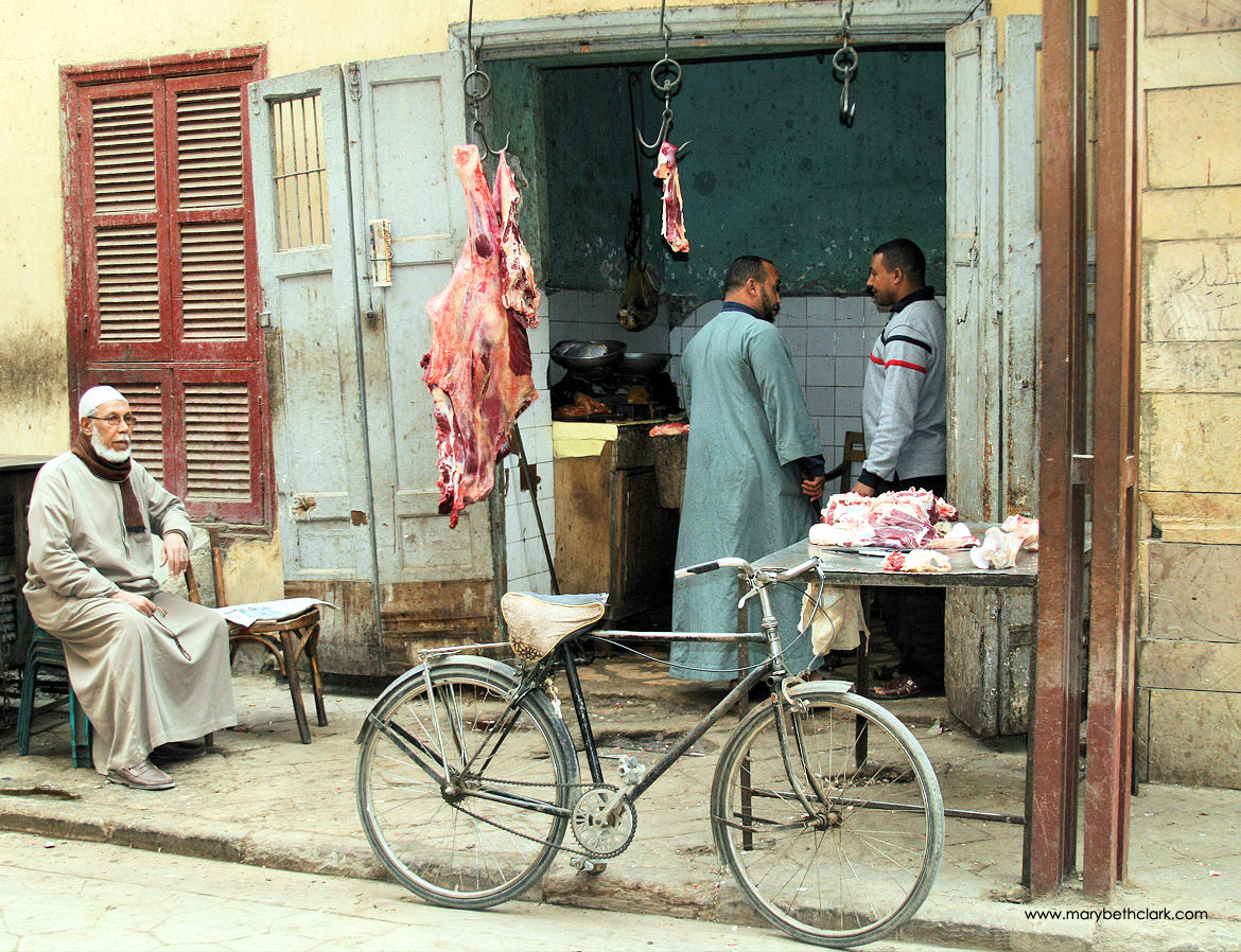 Travel - Africa - Egypt - Luxor - The Neighborhood Butcher Shop