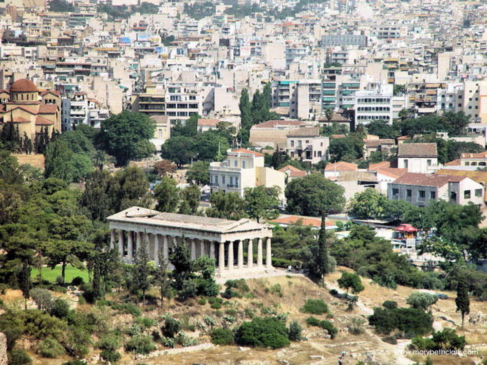 The Temple of Hephaestus - 1000 pixels