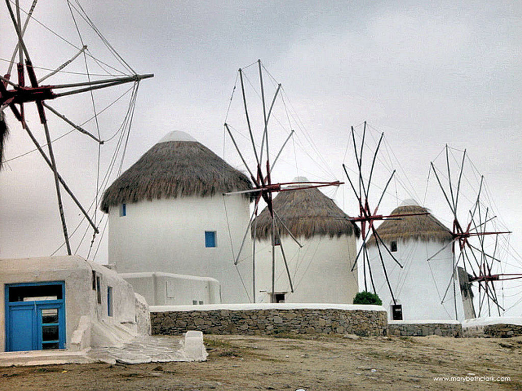 Greece - Mykonos - The Windmills of Kato Mili