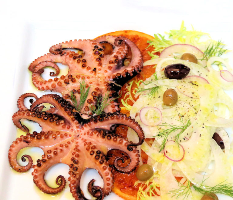 Grilled Octopus and Oranges with Shaved Fennel Salad - IMG_7116 - 1180