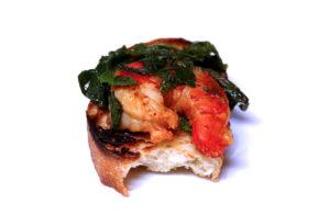 Garlic Shrimp with 'Nduja and Broccoli Rabe - IMG_6118 - 7